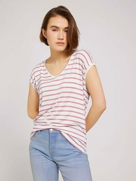 Gestreiftes T-Shirt im Loose-Fit - 5 - TOM TAILOR Denim