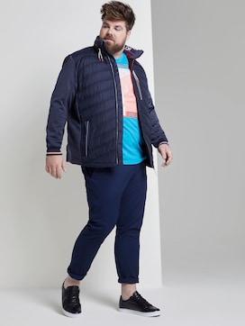 Slim chino trousers - 3 - Men Plus