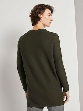 Langer Pullover mit Struktur - 2 - TOM TAILOR Denim