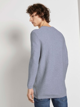 Langer Pullover mit Struktur - 2 - TOM TAILOR Denim