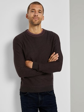 Basic Pullover met gestreept patroon - 5 - TOM TAILOR