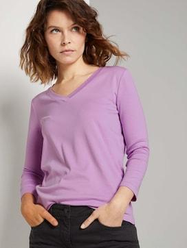 Shirt met V-hals - 5 - TOM TAILOR