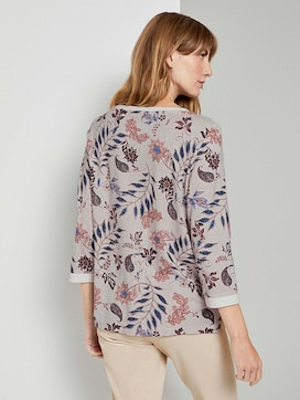 Sweatshirt mit Blumenmuster - 2 - TOM TAILOR