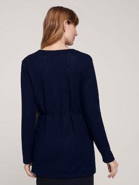 lange sweatshirt cardigan - 2 - TOM TAILOR