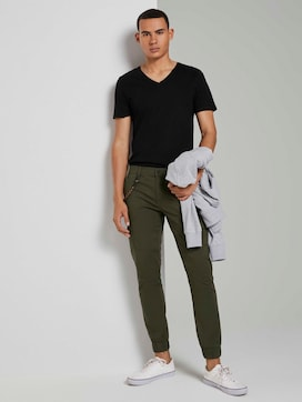 Cargo trousers in a jogger fit - 3 - TOM TAILOR Denim