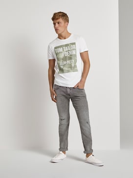 Piers Slim Jeans im Destroyed-Look - 3 - TOM TAILOR Denim