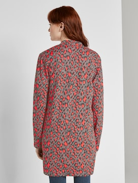 Long blazer with a leo pattern - 2 - TOM TAILOR