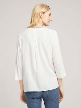 Basic blouse met V-hals - 2 - TOM TAILOR