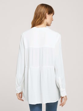 Tunika Bluse mit Volants - 2 - TOM TAILOR