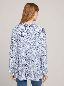 Tunic blouse with flounces - 2 - TOM TAILOR