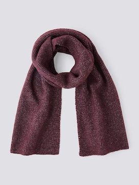 Scarf in a rib look - 7 - TOM TAILOR