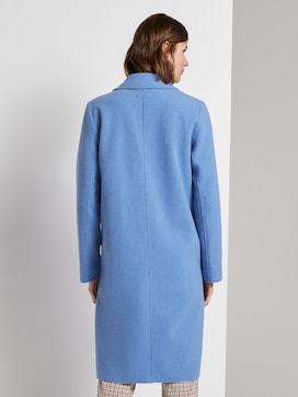 Langer Mantel mit Seitenschlitzen - 2 - TOM TAILOR