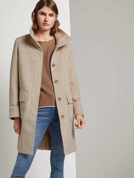 Moderne jas met opstaande kraag - 5 - TOM TAILOR