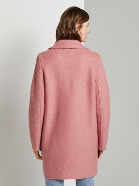 Loose bouclé coat - 2 - TOM TAILOR