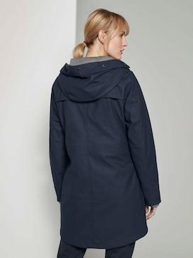 Gecoate regenjas met hoodie - 2 - TOM TAILOR
