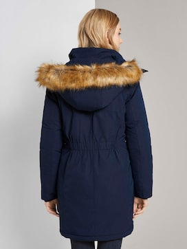 Winterparka met bont trim - 2 - TOM TAILOR