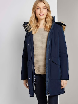 Winterparka met bont trim - 5 - TOM TAILOR