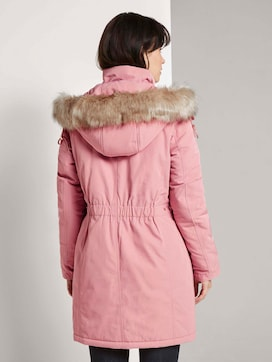Winterparka mit Fellbesatz - 2 - TOM TAILOR