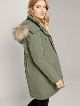 Winterparka mit Fellbesatz - 5 - TOM TAILOR