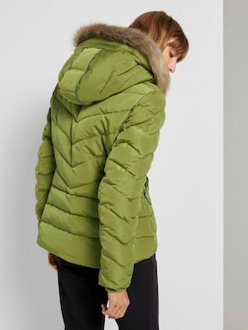 Buffer jacket with a faux fur hood  - 2 - TOM TAILOR