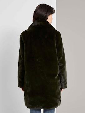 Soft faux fur coat - 2 - TOM TAILOR