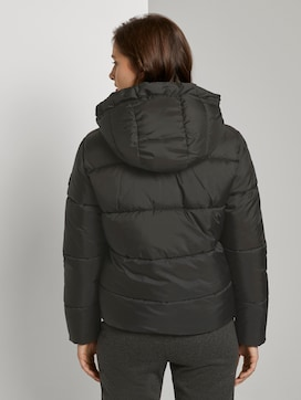 Short puffer jacket with a hood - 2 - TOM TAILOR Denim