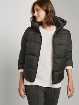 Short puffer jacket with a hood - 5 - TOM TAILOR Denim
