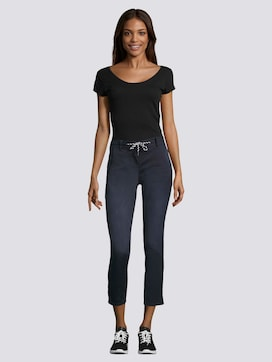Tapered Relaxed Hose mit Tunnelzug - 3 - TOM TAILOR