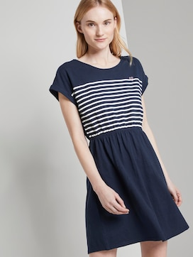 Maritime mini dress with a striped pattern - 5 - TOM TAILOR Denim