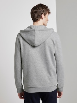 Sweat jacket with a reflective print - 2 - TOM TAILOR Denim