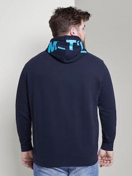 Hoodie met capuchon print - 2 - Tom Tailor E-Shop Kollektion