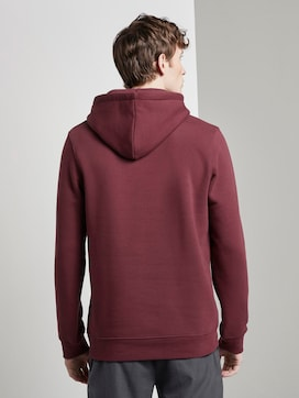 Hoodie with a reflective print - 2 - TOM TAILOR Denim