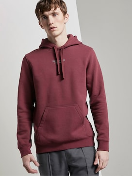 Hoodie with a reflective print - 5 - TOM TAILOR Denim