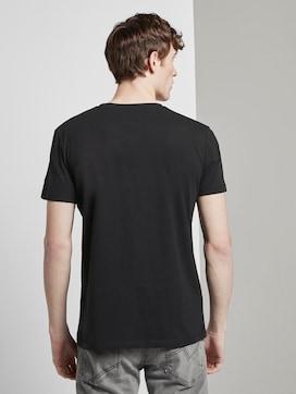 T-Shirt mit Reflekt-Print - 2 - TOM TAILOR Denim