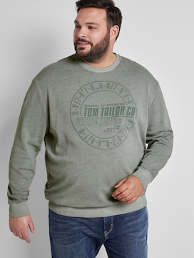Sweatshirt with a print - 5 - Tom Tailor E-Shop Kollektion
