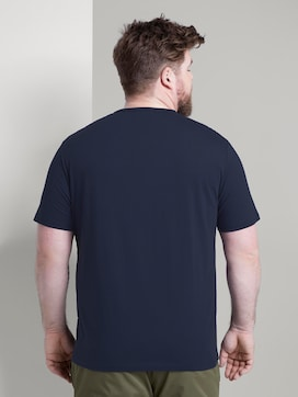 Geprint T-Shirt - 2 - Men Plus