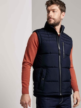Quilted vest with a stand-up collar - 5 - TOM TAILOR
