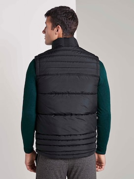 Quilted vest with a stand-up collar - 2 - TOM TAILOR