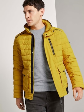 Quilted blouson jacket - 5 - TOM TAILOR