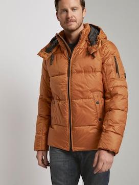 Puffer jas met hoodie - 5 - TOM TAILOR