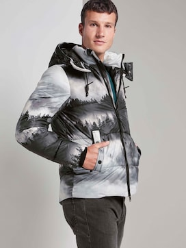 Pufferjacke mit Kapuze - 5 - TOM TAILOR