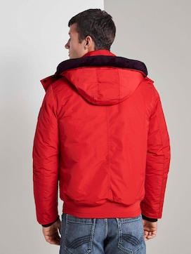 Blouson jacket with zip details - 2 - TOM TAILOR