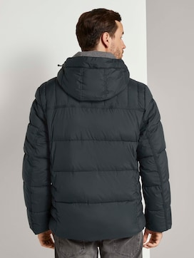 Puffer jacket with a hood - 2 - TOM TAILOR