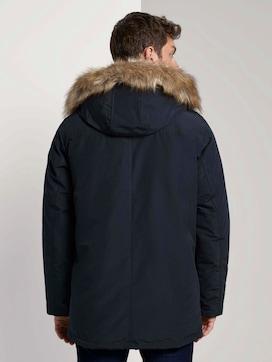 Lange winterjas met bontkraag - 2 - TOM TAILOR