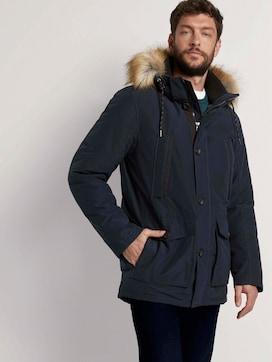 Lange winterjas met bontkraag - 5 - TOM TAILOR