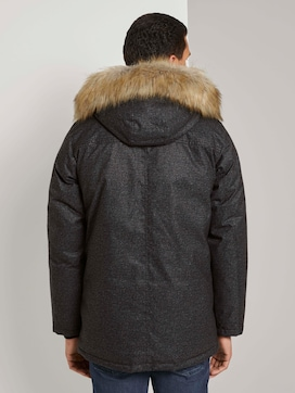 Long winter jacket with a fur collar - 2 - TOM TAILOR