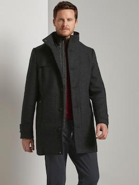 Wollen jas met gewatteerde onderjas - 5 - TOM TAILOR