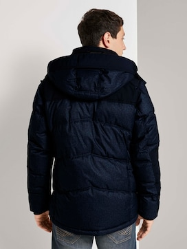 Quilted parka with a hood - 2 - TOM TAILOR