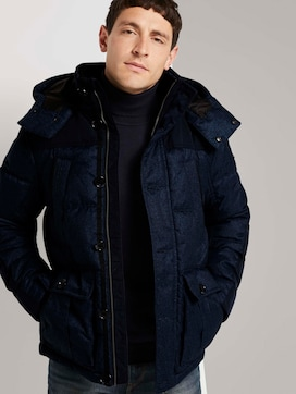 Quilted parka with a hood - 5 - TOM TAILOR