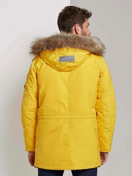 Winter parka with a fur hood - 2 - TOM TAILOR